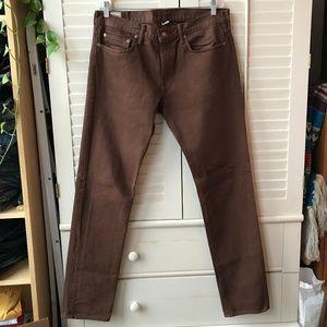 J. Crew Men's Brown Jeans 34 x 34